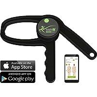 eaglefit® Bluetooth Caliper - Das erste digitale Körperfett Messgerät mit App - Machen Sie Ihre Fitness-Erfolge messbar!
