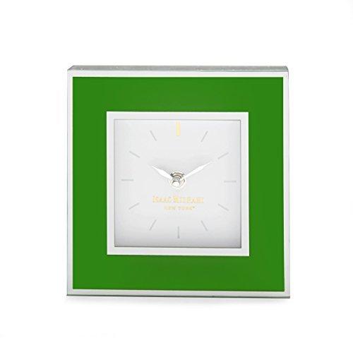 isaac-mizrahi-square-clock-green-by-the-jay-companies
