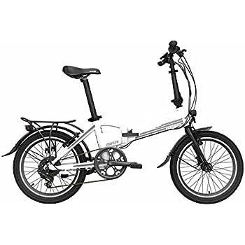 Bicicleta eléctrica plegable Legend Monza 10.4AH (blanco)