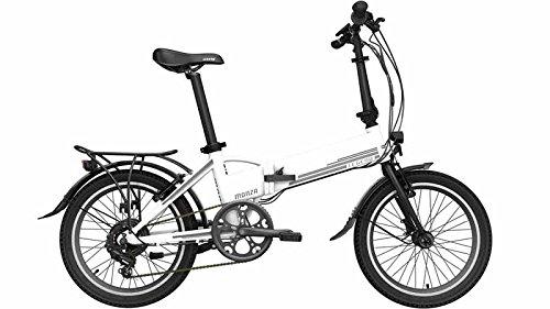 Bicicleta eléctrica plegable Legend Monza 8AH (blanco)