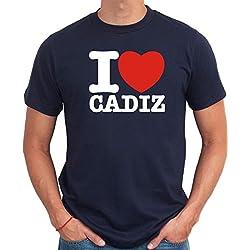 Camiseta I love Cadiz