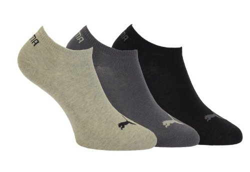 Puma Unisex Sportsocken  3er Pack, grau-navy-grey-nights, 43-46  251025 -