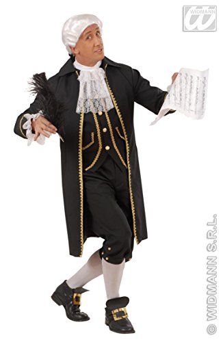 Kostüm Komponist - Generique - Komponisten-Kostüm für Herren