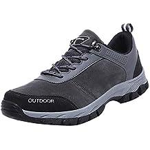 Zapatos de Seguridad para Hombre Zapatillas de Seguridad Trabajo Industrial y Deportiva con Puntera de Acero