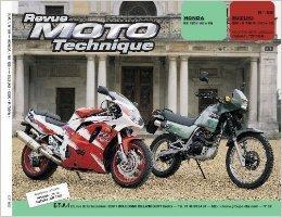 Revue technique de la Moto, numéro 89.2 : Honda NX 125, 1989-1993, Suzuki GSX-r750, 1992-1993 de Etai ( 27 mai 1993 ) par Etai