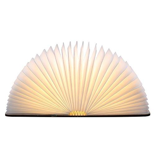 Excelvan BK01 Lampe LED 500 Lumens Pliante en forme de Livre avec batterie lithium de 3000mAh- Jusqu'à 6 heures d'autonomie