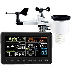 Froggit 3500 WH3000 Se Station météo Wi-FI avec écran Couleur et grossissement des Merveilles