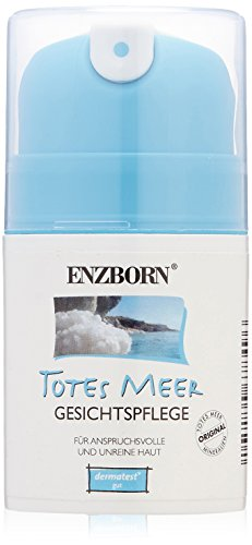 Enzborn Totes Meer Gesichtspflege 50 ml, 1er Pack (1 x 50 ml) - Totes Meer-feuchtigkeitsspendende