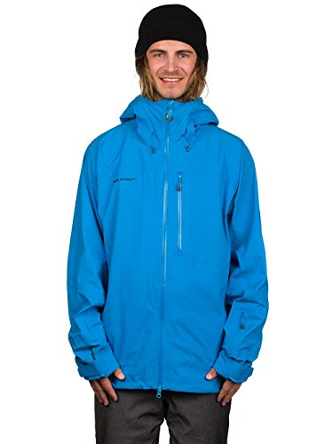 Mammut Alvier Tour HS Hooded Jacket atlantic
