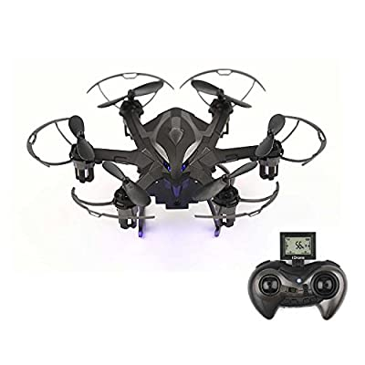 RC Quadcopter with Camera HD 720P RC Helicopter Drone with LED Rechargeable 4CH 6-Axis Gyroscope 2.4 GHz RC Drone(4G SD Card & SD Card Reader Included)