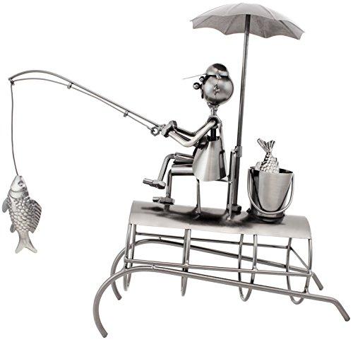 brubaker porte bouteille de vin p cheur sous parasol. Black Bedroom Furniture Sets. Home Design Ideas