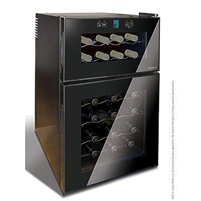 Husky HN7 Husky Reflections Dual Zone Wine Cooler by Husky