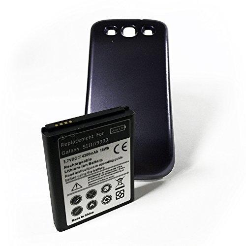 SMARTEX   Nueva Baterìa de Repuesto con Capacidad Mejorada 4300 mAh + Funda...