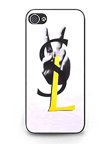 for-kids-iphone-5-5s-case-yves-saint-laurent-ysl-vintage-brand-logo-pattern-light-weight-plastic-bla