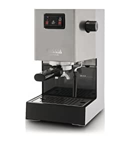 Gaggia Classic 9403/11 Coffee Machine with Professional Filter Holder - Stainless Steel Body