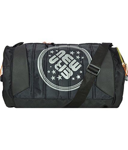 New-Era 22Litres Polyester Black Gym Duffle Bag