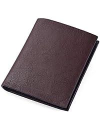 7675649d8 ZMRDC Monedero Billetera Monedero Hombre Billetera Vertical Personalidad  Personalidad de Grano Grueso