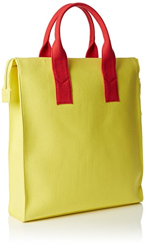 Peter Jensen  Canvas Thelma, Sac femme Multicolour (Yellow/Navy/Red)