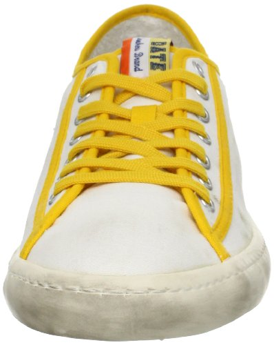 D.A.T.E. Homme Sneakers Blanc/Jaune