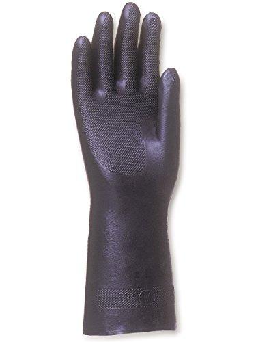 Singer Paire de gants néoprène. Sans support. Floqué coton. Longueur 330 mm NEO400. Taille 9