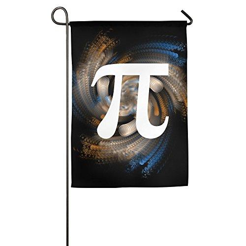 Pi Symbol Logo Home Garden Flags White