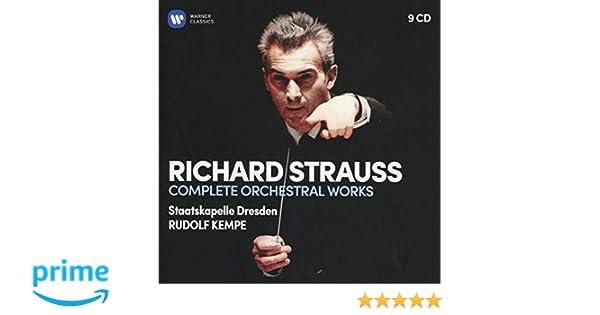 Sämtliche Orchesterwerke Rudolf Kempe Sd Richard Strauss Amazon