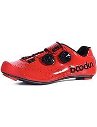 Zapatillas de Ciclismo para Hombre, Zapatillas de Ciclismo de Carretera Profesionales Zapatillas de Carreras de