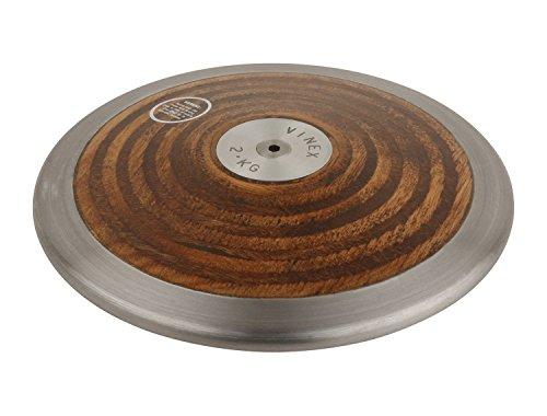 Lancer du disque - disque à lancer - bois - pour les compétitions et l'entraînement - 0,75 kg - 1,00 kg - 1,50 kg - 1,75 kg - 2,00 kg