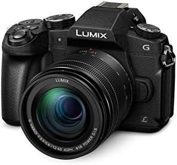 Panasonic DMC g81meg K Lumix G cámara de sistema (16MP, 4K fotográfico de vídeo, Dual I.S. Estabilizador de imagen, visor OLED, Hybrid Contraste AF, 7,5cm Pantalla Táctil, WiFi) con objetivo H de fs12060/F3,5-5,6/OIS Negro