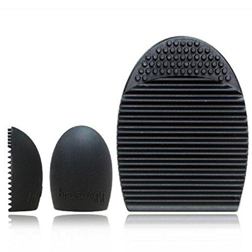 Malloom® Professionale Contorno Piatto Fard Pennello Cosmetico Rossore Kabuki Strumento Cosmetici Pennello Trucco (Nero)