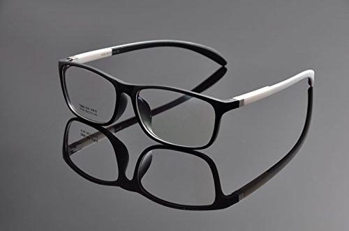 De Ding - Monture de lunettes - Femme - Noir/blanc
