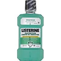 Listerine - Bain de bouche antibactérien au fluor, protection dents et gencives - Le flacon de 250ml - (pour la...