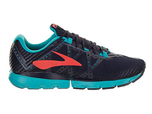 Brooks Damen Neuro 2 Laufschuhe Evening Blue/China Blue/Fiery Coral