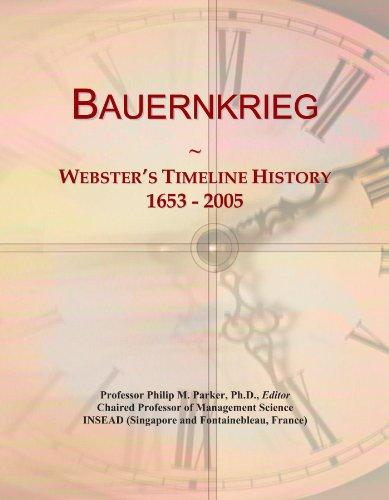 Bauernkrieg: Webster's Timeline History, 1653-2005