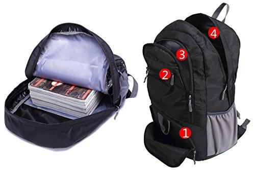 """mrplum 30l verpackt werden können als """"rucksack die haltbarsten licht für männer und frauen wandern tasche + camping - ausflug ist für outdoor - trave radfahren rucksack kleine tasche Black"""