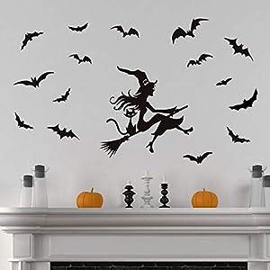 ufengke Pegatinas de Pared Halloween