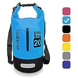 ARTEESOL Dry Bag Waterproof beach bag - Adjustable double strap,Prefectly for Floating,Kayaking,Boating,Rafting,Swimming,Diving,Snowboarding,Canoe,Surfing Skiing