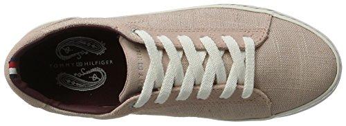 502 Rose Tommy polverosa Femme 7c1 Hilfiger Bassi E1285liza Sneaker 7Opg1q