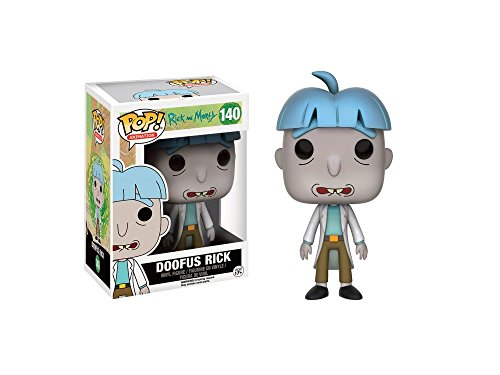 Funko - Figurine Rick et Morty - Doofus Rick Exclu Pop 10cm - 08896981