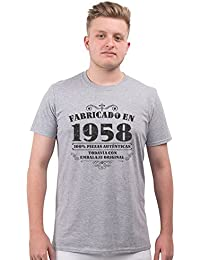 Bang Tidy Clothing Camiseta de Hombre para Regalo DE 60 cumpleaños Manufactured 1958