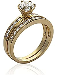 ISADY - Hattie Gold - Women's Ring - 750/000 (18 Carat) Gold - Cubic Zirconia