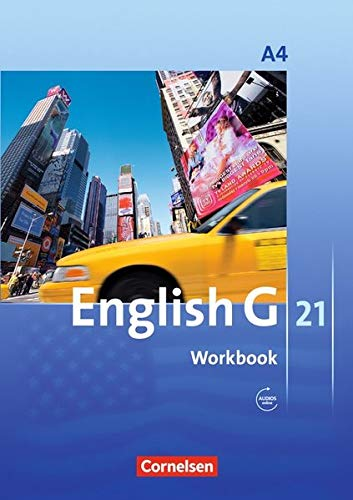 English G 21 - Ausgabe A / Band 4: 8. Schuljahr - Workbook mit Audios online 21 Audio