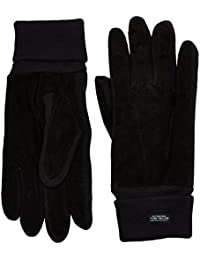 TOM TAILOR Herren Handschuhe Gloves with Leather Mix