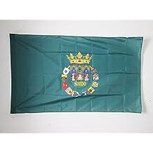 BANDERA de la PROVINCIA DE SEVILLA 150x90cm para palo - BANDERA SEVILLA ENANDALUCÍA 90 x 150 cm - AZ FLAG