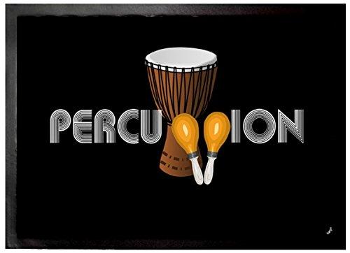 Felpudos Música Band, Percussion Felpudo Alfombrilla (70 x 50cm)