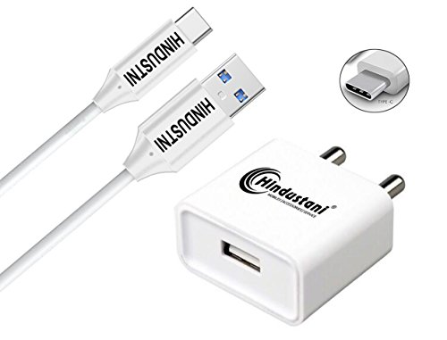 Lakshika Type-C Charger Adapter 2 Ampere Fast USB Power Wall...