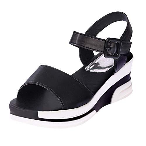 Sandalias Mujer Verano 2019 Plataforma - Deporte Zapatos