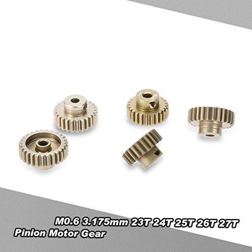 MMLC GoolRC M0.6 3.175mm 18 T 19 T 20 T 21 T 22 T 0,6 Modul Ritzel Motor Getriebe (a) -