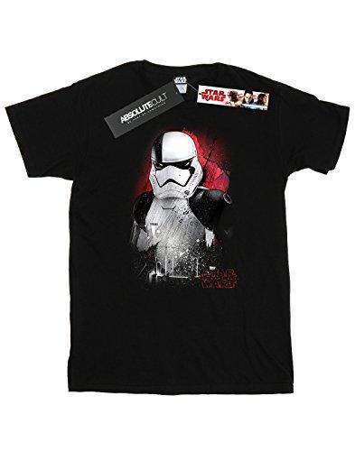 ... Star Wars Herren The Last Jedi Stormtrooper Brushed T-Shirt Schwarz