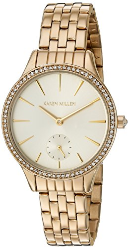Karen Millen Womens Watch KM112GMA